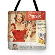 CAMEL CIGARETTE AD, 1951 Tote Bag by Granger