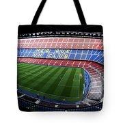 Camp Nou Tote Bag by Agusti Pardo Rossello
