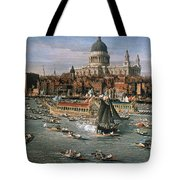 Canaletto: Thames, 18th C Tote Bag by Granger