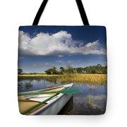 Canoeing in the Everglades Tote Bag by Debra and Dave Vanderlaan