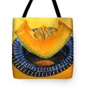Cantaloupe Oil Painting Tote Bag by Natalja Picugina
