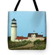 Cape Cod Highland Lighthouse Tote Bag by Juergen Roth