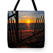Cape Cod Sunset Tote Bag by Catherine Reusch  Daley
