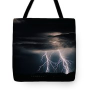 Carefree Lightning Tote Bag by Cathy Franklin