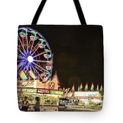 carnival Fun and Food Tote Bag by James BO  Insogna