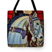 Carousel Horse - 7 Tote Bag by Paul Ward