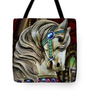 Carousel Horse  Tote Bag by Paul Ward