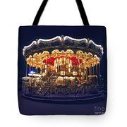 Carousel In Paris Tote Bag by Elena Elisseeva