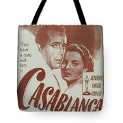 Casablanca Tote Bag by Georgia Fowler