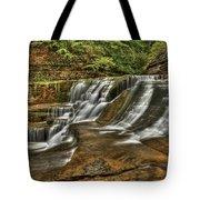 Cascades Tote Bag by Evelina Kremsdorf