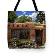 Casita De Santa Fe Tote Bag by Kurt Van Wagner