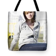 Casual Country Girl Tote Bag by Jorgo Photography - Wall Art Gallery