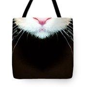 Cat Art - Super Whiskers Tote Bag by Sharon Cummings