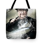 Catch Of The Day Tote Bag by Jorgo Photography - Wall Art Gallery
