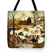Census At Bethlehem Tote Bag by Pieter the Elder Bruegel