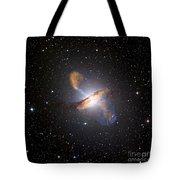 Centaurus A Black Hole Tote Bag by Nasa