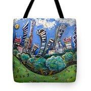 Central Park South Tote Bag by Jason Gluskin