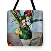 Cezanne: Tulips, 1890-92 Tote Bag by Granger