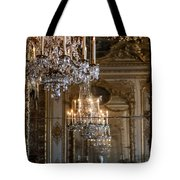 Chandelier At Versailles Tote Bag by Georgia Fowler