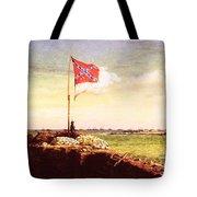 Chapman Fort Sumter Flag Tote Bag by Granger