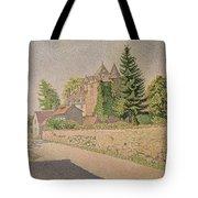 Chateau De Comblat Tote Bag by Paul Signac