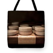 Checkers I Tote Bag by Tom Mc Nemar
