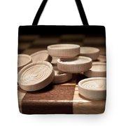 Checkers IIi Tote Bag by Tom Mc Nemar