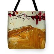 Cherry Blosoms II Tote Bag by Luz Elena Aponte