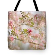 Cherry Blossom Delight Tote Bag by Kim Hojnacki