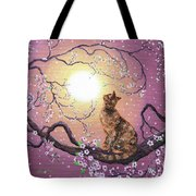 Cherry Blossom Waltz  Tote Bag by Laura Iverson