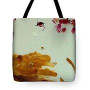 Cherry Blossoms IIi Tote Bag by Luz Elena Aponte