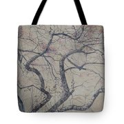 Prairie Fire Tote Bag by Leah  Tomaino