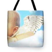 Cherub Tote Bag by Lisa Knechtel
