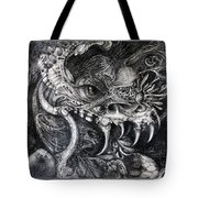 Cherubim Of Beasties Tote Bag by Otto Rapp