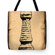 Chess Rook Tote Bag by Tom Mc Nemar