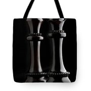 Chessmen I Tote Bag by Tom Mc Nemar