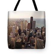 Chicago Tote Bag by Steve Gadomski
