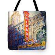 Chicago Theater Tote Bag by Michael Durst