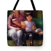 Children - Balanced Meal Tote Bag by Mike Savad