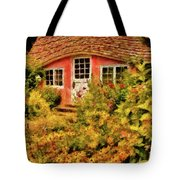Children - The Children's Cottage Tote Bag by Mike Savad