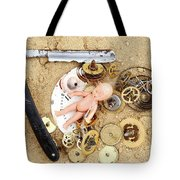 Children's Games Tote Bag by Michal Boubin