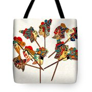 China - Land Of Many Faces Tote Bag by Christine Till