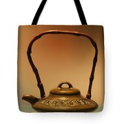 Chinese Teapot - A Symbol In Itself Tote Bag by Christine Till