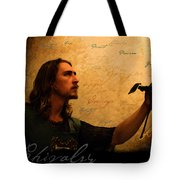 Chivalry Reborn Tote Bag by Christopher Gaston
