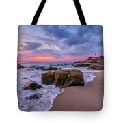 Chris's Rock Tote Bag by Peter Tellone