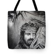 Christ Tote Bag by Carla Carson