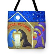 Christmas Blessings 2 Tote Bag by Patrick J Murphy