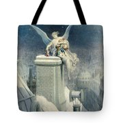 Christmas Eve Tote Bag by Gustave Dore