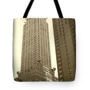 Chrysler Building Tote Bag by Debbi Granruth