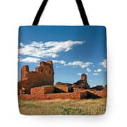 Church Abo - Salinas Pueblo Missions Ruins - New Mexico - National Monument Tote Bag by Christine Till